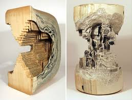 Upcycle Old Books - 194 best book carving art images on pinterest book art altered
