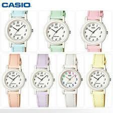 Jam Tangan Casio Remaja jual jam tangan wanita anak remaja casio original lq 139l 6b tali