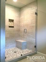 3 Panel Shower Door Glass Bathroom Doors 3 8 Inline Glass Shower Door And Panel With