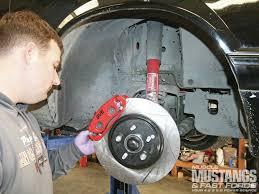 late model restoration mustang latemodel restoration five lug cobra brake kit five lug fever