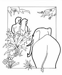 elephant eden coloring book
