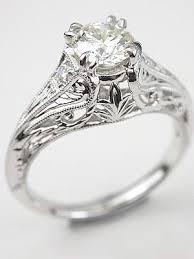 engagement rings vintage style edwardian antique style engagement ring rg 3345e engagement