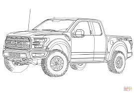 ford coloring pages ford f150 pickup truck coloring page free