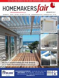 Aluminium Awnings Cape Town Homemakersfair Cape Town September 2017 By Homemakers Issuu