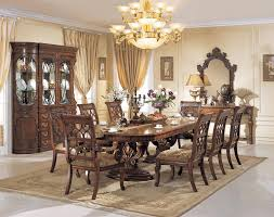parma double pedestal table dining room set orleans