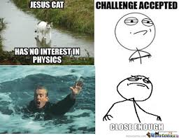 Jesus Cat Meme - jesus cat by ninjajedikitty meme center