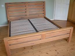 solid oak super king size bed frame in bath somerset gumtree