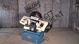 baileigh industrial bs 916m manual bandsaw band saw youtube