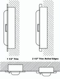 semi recessed fire extinguisher cabinet larsen s cameo series semi recessed fire extinguisher cabinets