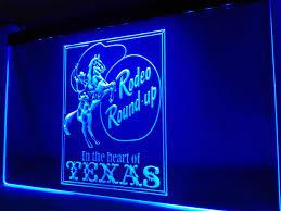 aliexpress com buy lk390 cowboys horse rodeo texas bar led neon