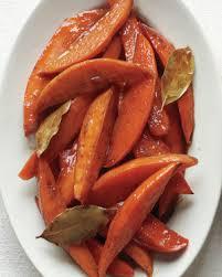 spiced honey glazed sweet potato wedges