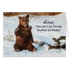 funny grizzly bears greeting cards zazzle