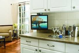 tv in kitchen ideas the cabinet tv for kitchen ideas 28 amazon com mount