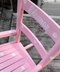 Toddler Rocking Chairs Personalized Rocking Chair For Toddlers Home Chair Decoration