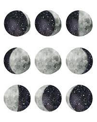 phases of the moon moon tattoo and illustrators