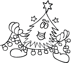 christmas tree lights coloring pages christmas tree template