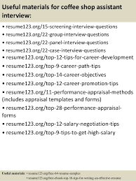 Sample Of Objectives In Resume by Top 8 Coffee Shop Assistant Resume Samples