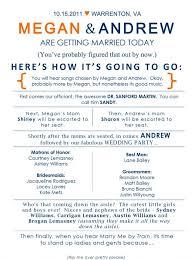 wedding program layout template wedding program sle wording graceful 8 vizarron