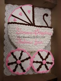 baby carriage cake girl carriage baby shower cake