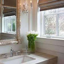 Ornate Bathroom Mirror Silver Ornate Bathroom Mirror Design Ideas