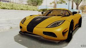 koenigsegg agera r 2016 koenigsegg agera 2016 from enf for gta san andreas