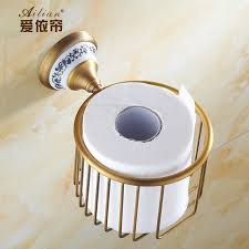 Blue And White Bathroom Accessories by Online Get Cheap Gold Bathroom Accessories Aliexpress Com