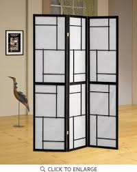Folding Screens Room Dividers by Panel Black Folding Screen Room Divider By Coaster 900102