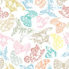 butterfly pattern stock vector illustration of pattern 53393513
