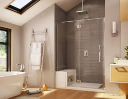 Bathroom Shower Enclosures by Modern Bathroom With Fiberglass Shower Frameless Shower Doors And