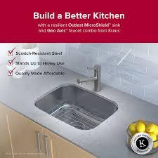 where are kraus sinks made kraus outlast microshield 23 x 17 undermount kitchen sink