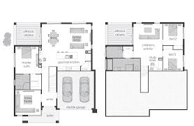 split level floor plans stylish 21 plan w2298sl narrow lot