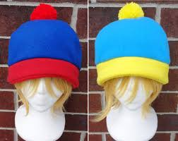 Eric Cartman Halloween Costume Stan Cartman Craig Tucker South Park Costume Hat Fleece