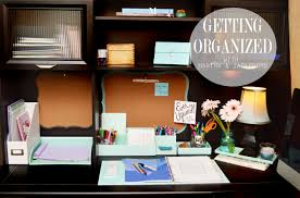 How To Organize A Home Office Getting Organized Jaderbomb