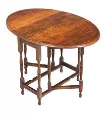 Drop Leaf Oak Table Oak Antique Drop Leaf Gate Leg Occasional Table