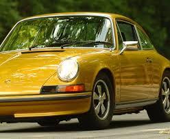 gold porsche 911 911s golden era vintage cars boutique