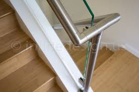 Stainless Steel Handrails For Stairs Leila 3 Wa Modern Stainless Steel Cable And Glass Railing