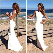 beach wedding dress simple wedding dress boho wedding dress summer