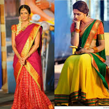 trendy half saree designs to try out the coming festive season