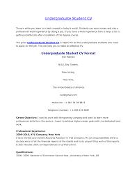 undergraduate resume template haadyaooverbayresort com