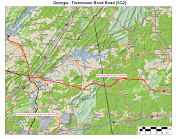 Tennessee Highway Map by Alabama Arkansas Louisiana Mississippi Oklahoma Texas