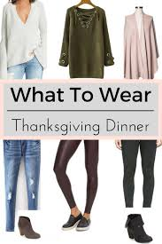 what to wear for thanksgiving a simple formula