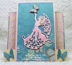 how to make a center step card happy birthday stamping with