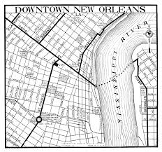 New Orleans City Map by Arizona City Maps At Americanroads Com