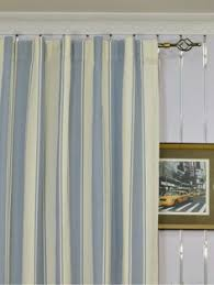 108 Inch Panel Curtains Moonbay Narrow Stripe Grommet Cotton Extra Long Curtains 108 120