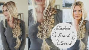 tutorial stacked braid tutorial youtube
