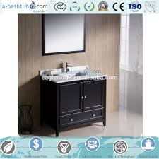 How High Is A Bathroom Vanity by High Gloss Black Finish Bathroom Vanity High Gloss Black Finish