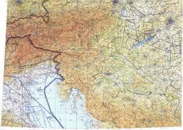 Zagreb Map Download Topographic Map In Area Of Zagreb Ljubljana Venezia