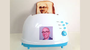 Vice Versa Toaster All The Talk About The World U0027s First 3d Printed Selfie Pancake Is