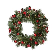 martha stewart living 30 in artificial wreath with