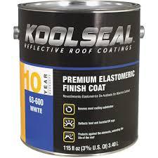 kool seal premium white elastomeric roof coating ks0063600 16